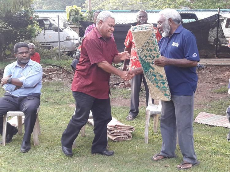 Tanna VP leaders reconcile through custom