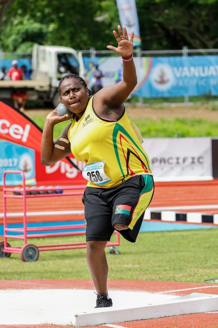Talent Identification search for new parathletes in Luganville and Lakatoro