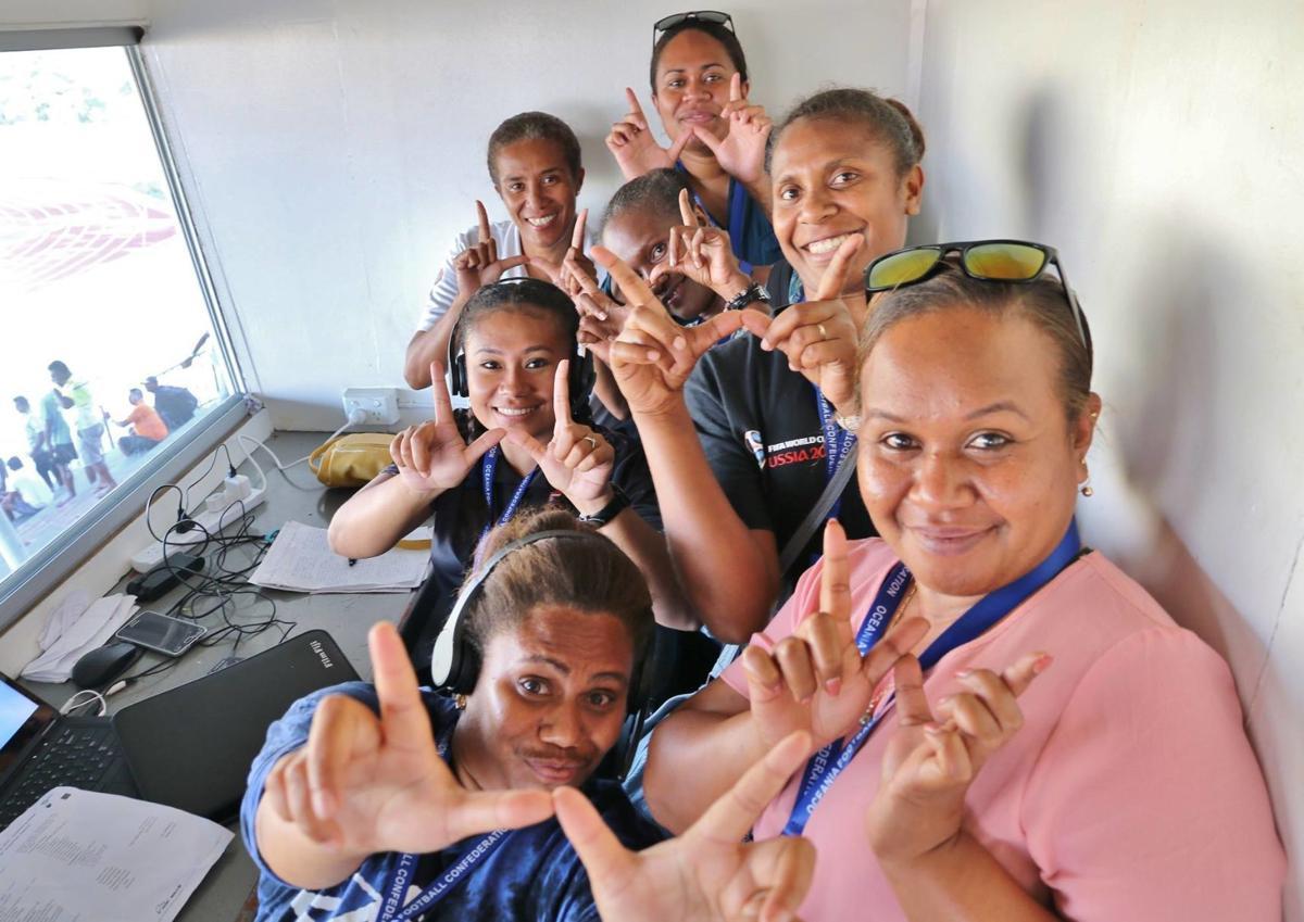 Ni-Vanuatu women preparing to play their part in sporting history