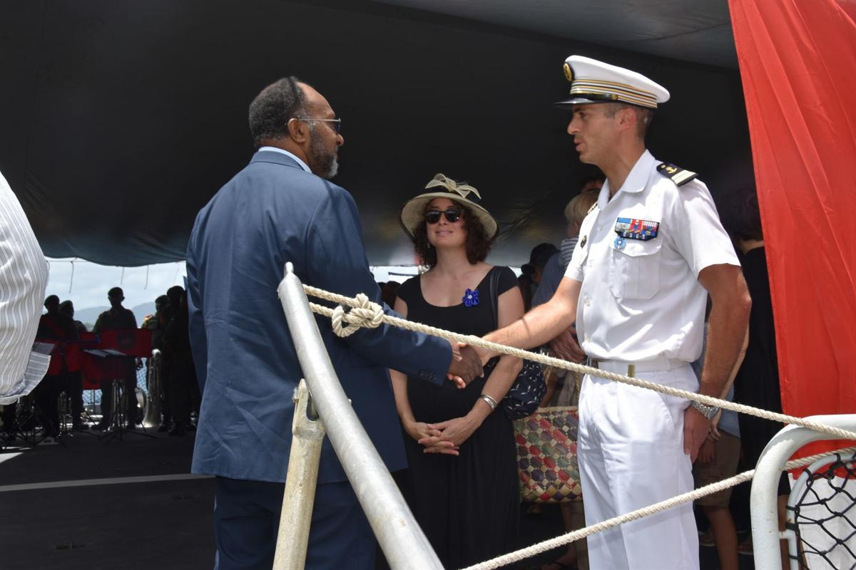 """Vendémiaire"" part of Remembrance commemoration in Port Vila"