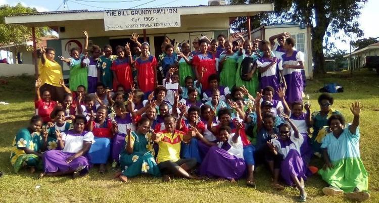 Women's Island Cricket Fighting NCDs