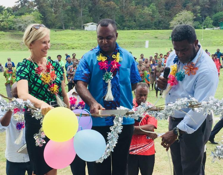 Lenakel's Laminu Stadium reopens