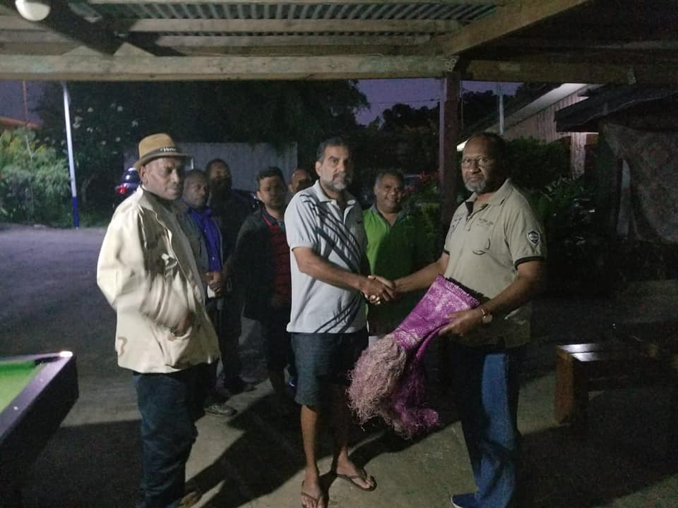 Leaders Party Vanuatu says thank you to the Prime Minister