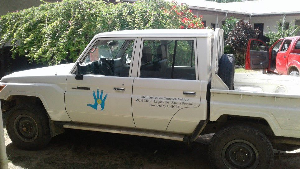 Alleged misuse of gov't vehicle in Luganville
