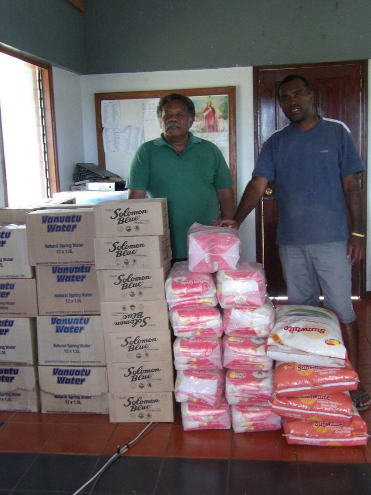 Coordinators confident food supplies will come