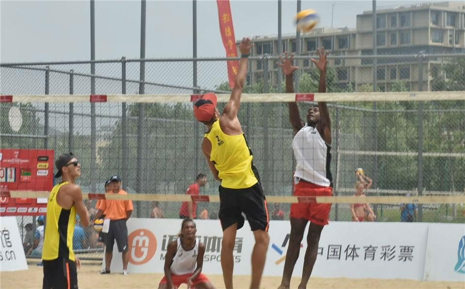 U16 Beach volleyball girls win in New Caledonia