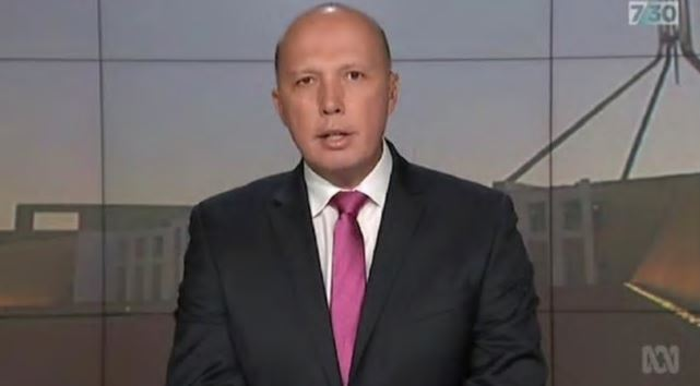 7.30's Leigh Sales grills Peter Dutton on offshore detention and PM ambitions