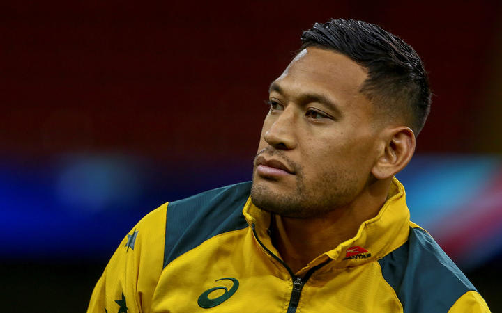 Israel Folau to be sacked by Rugby Australia