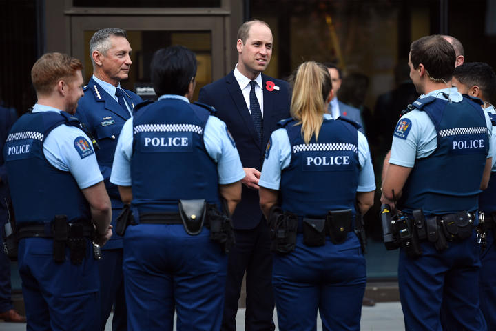 Prince William meets first responders to mosque attacks in Christchurch