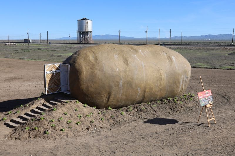 Big Idaho Potato Hotel lets you sleep inside a giant potato