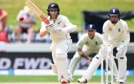 Cricket: New Zealand vs England
