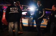 New York police officers stabbed, shot