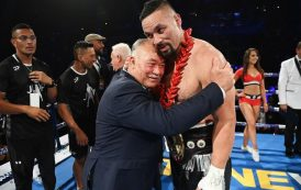 Boxing: Joseph Parker defeats Junior Fa after going the full 12 rounds