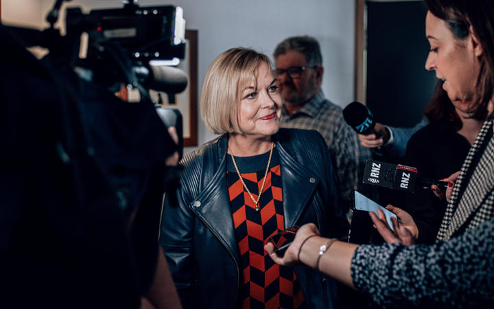 Judith Collins 'enjoying every moment' as National leader